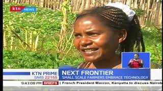 Meru County farmers embraced a flying technology (drones) for to help detect pests and diseases