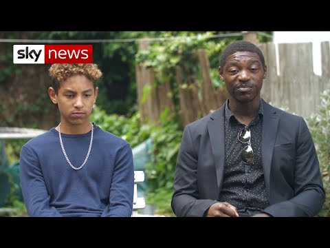 Black father and son 'threatened by police with Tasers' during charity bike ride