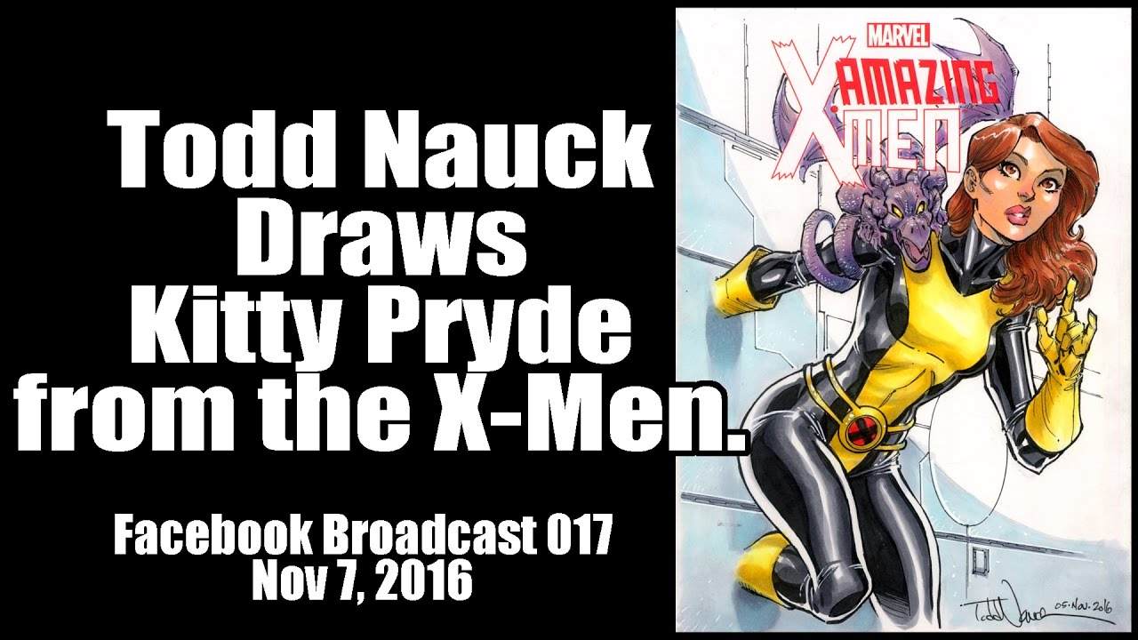 Color art facebook - Color Art Facebook Todd Nauck Draws Kitty Pryde Color Art Facebook Broadcast