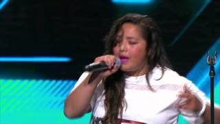 Amazing unexpected rap from Ria Hoeta - The X Factor NZ on TV3 - 2015