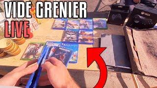 DES BONS JEUX PS4 ET PS VITA DANS CE VIDE GRENIER LIVE !