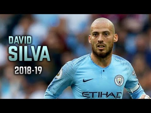 David Silva 2018-19 | Dribbling Skills & Goals