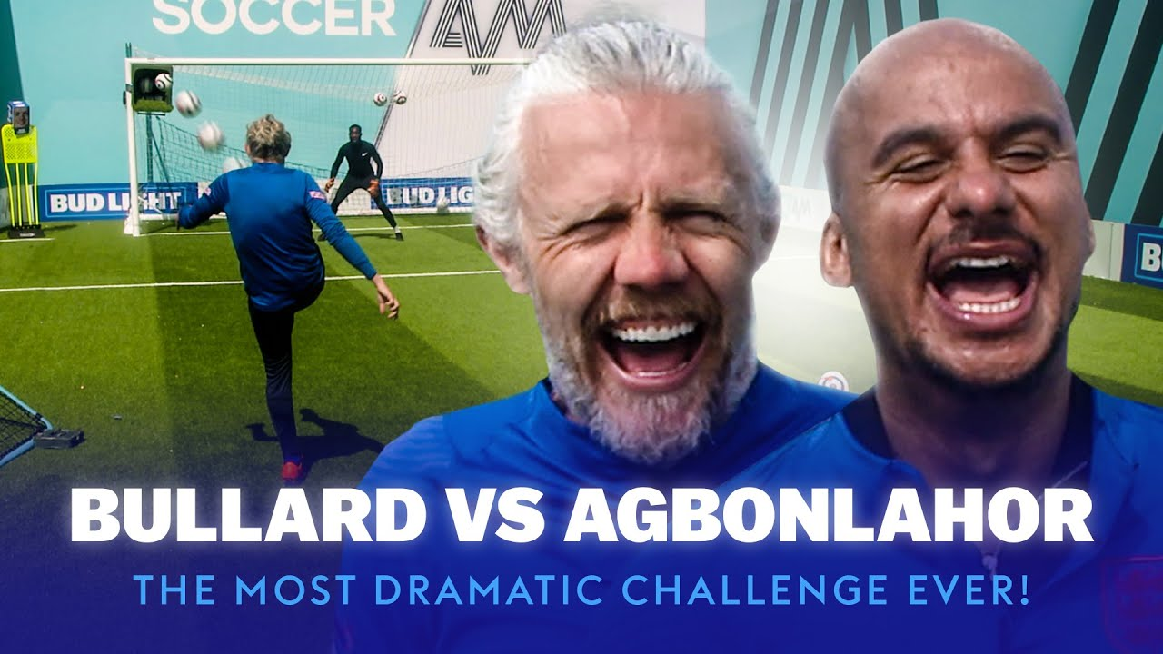 The Most DRAMATIC Drill Ever! 🤯 | Gabby Agbonlahor vs Jimmy Bullard | Bullard's Boxheads