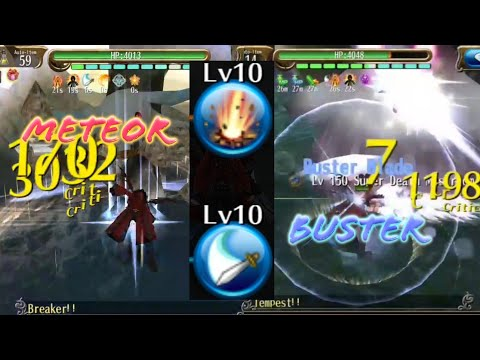 Arewzo 2H Meteor Buster Lv150 Build (With Lv4 Skill Tree) All Out Damage DPS - Toram Online