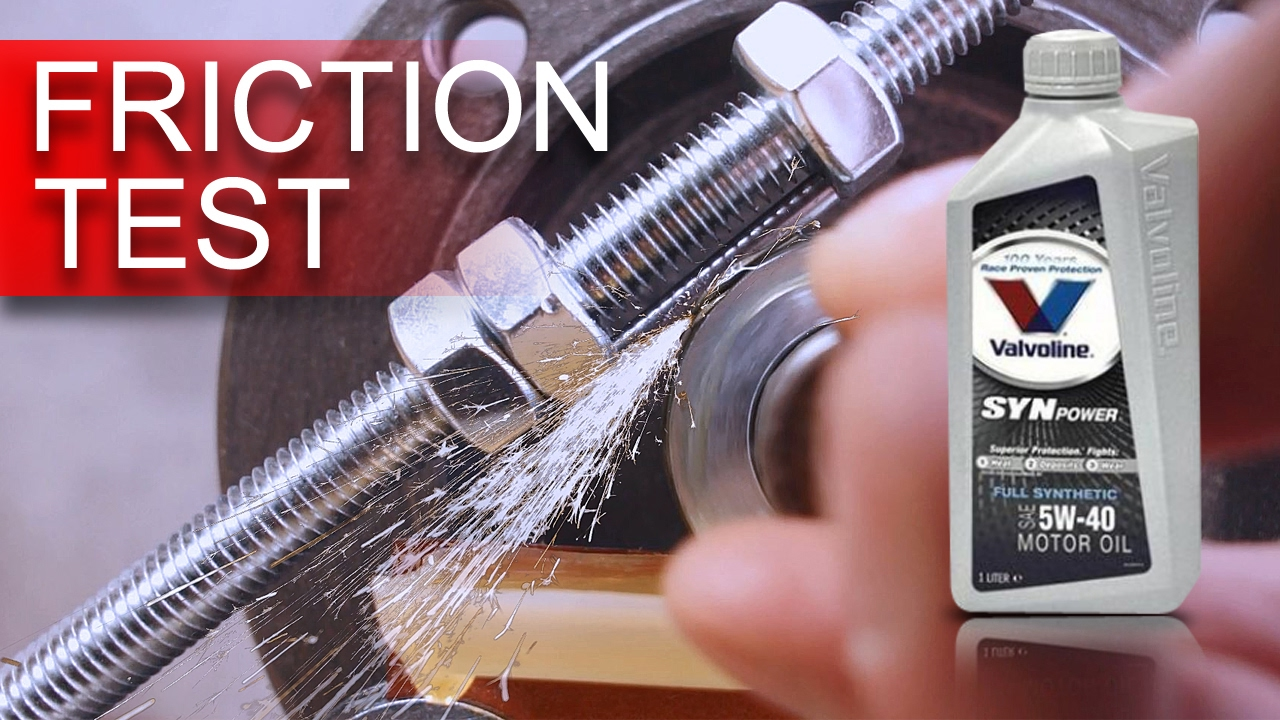 Valvoline synpower 5w40 jak skutecznie olej chroni silnik for Valvoline motor oil test