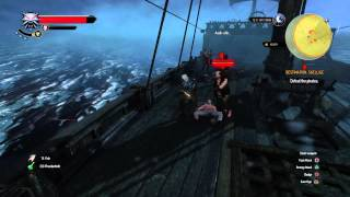 The Witcher 3: Wild Hunt im on a pirate  ship