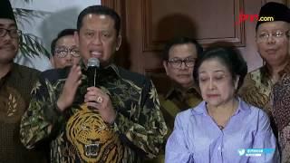 Bertemu Megawati, Pimpinan MPR RI Bahas Usulan Amendemen Terbatas UUD NRI 1945 - JPNN.com