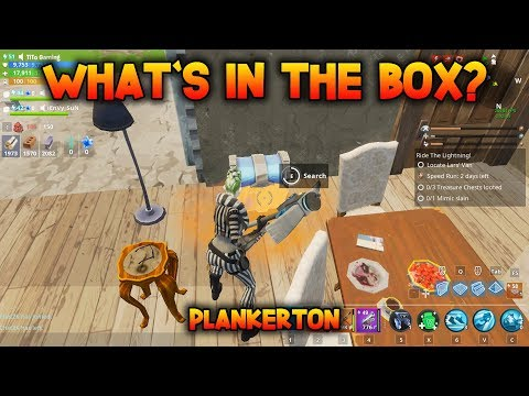 WHAT'S IN THE BOX? - Loot 3 Treasure Chests & Kill A Mimic - Fortnite Save The World