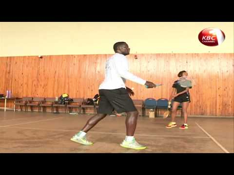 Kenya Badminton team set to represent Kenya in upcoming Commonwealth Game continue with training