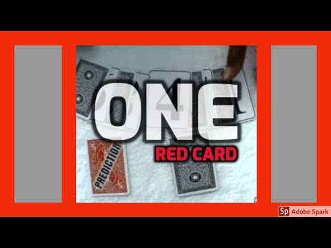 ONLINE MAGIC TRICKS TAMIL I ONLINE TAMIL MAGIC #228 I ONE RED CARD