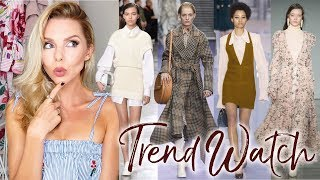 Autumn/Winter 2017 TRENDS // catwalk, fashion, designers!