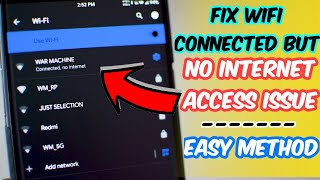 How to fix Wi-fi connected but no internet access on android(Got problems with WI FI on android devices then check out this video!!!! After changing wireless mode to 802.11b if it doesn't work then change it to 802.11g., 2015-08-19T08:40:11.000Z)