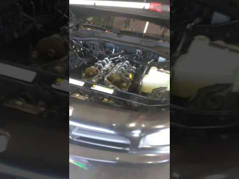 Replacing blown head gasket on the 2007 Dodge Charger