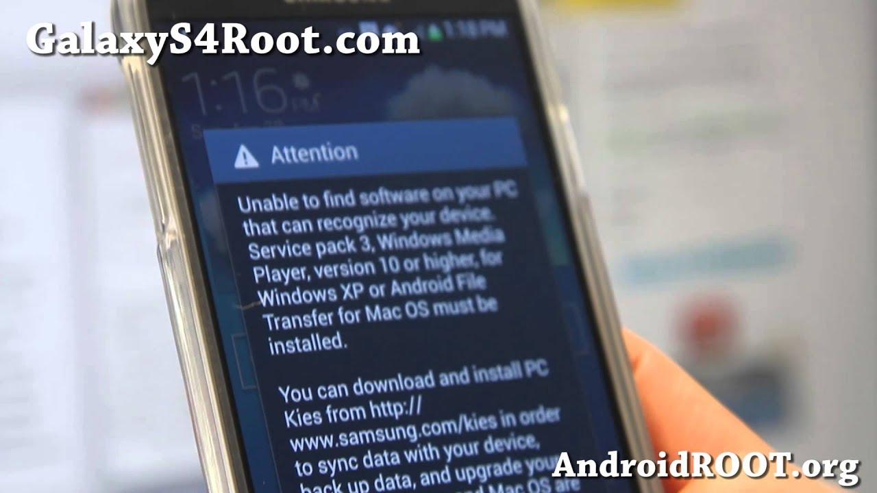 Option 2. Root Samsung Galaxy S4 Using CWM Method