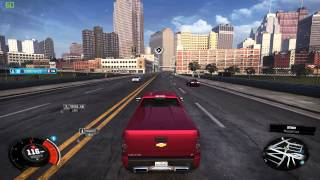 THE CREW PC - 2010 Chevrolet Silverado 1500 Street Tuned Test Drive (Maxed - 60fps)