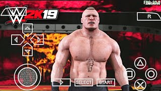 [300MB] DOWNLOAD WWE 2K19 PPSSPP/PSP GAME ON ANDROID | NEW ATTIERS | ALL PLAYERS | HD GRAPHICS |