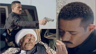 قتل هتلر واصابة زين القناوي - مسلسل نسر الصعيد - محمد رمضان