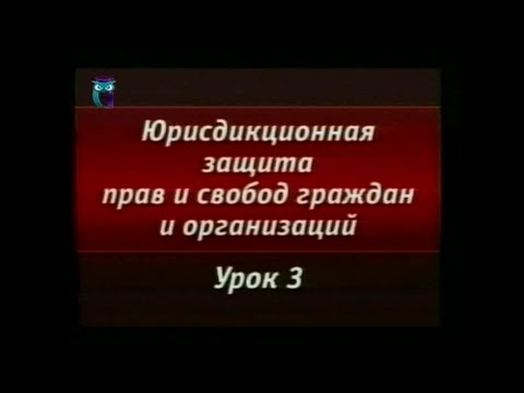 Урок 3. Защита прав граждан в Конституционном суде РФ