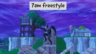 7am freestyle Fortnite montage