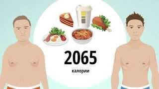 видео Как правильно питаться, чтобы набрать мышечную массу