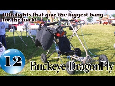 Buckeye Dragonfly - 12 Ultralight Aircraft that give the biggest bang for the buck! Volume II