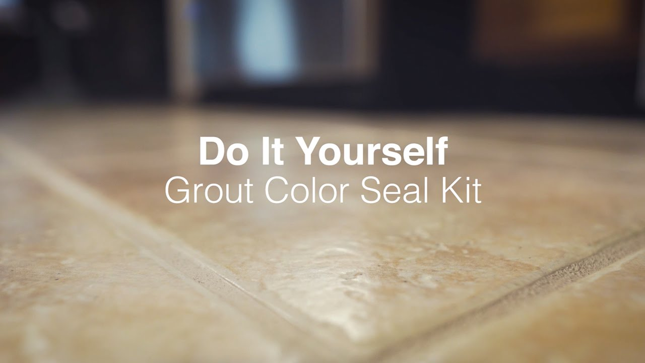 DIY Grout Color Seal Kit