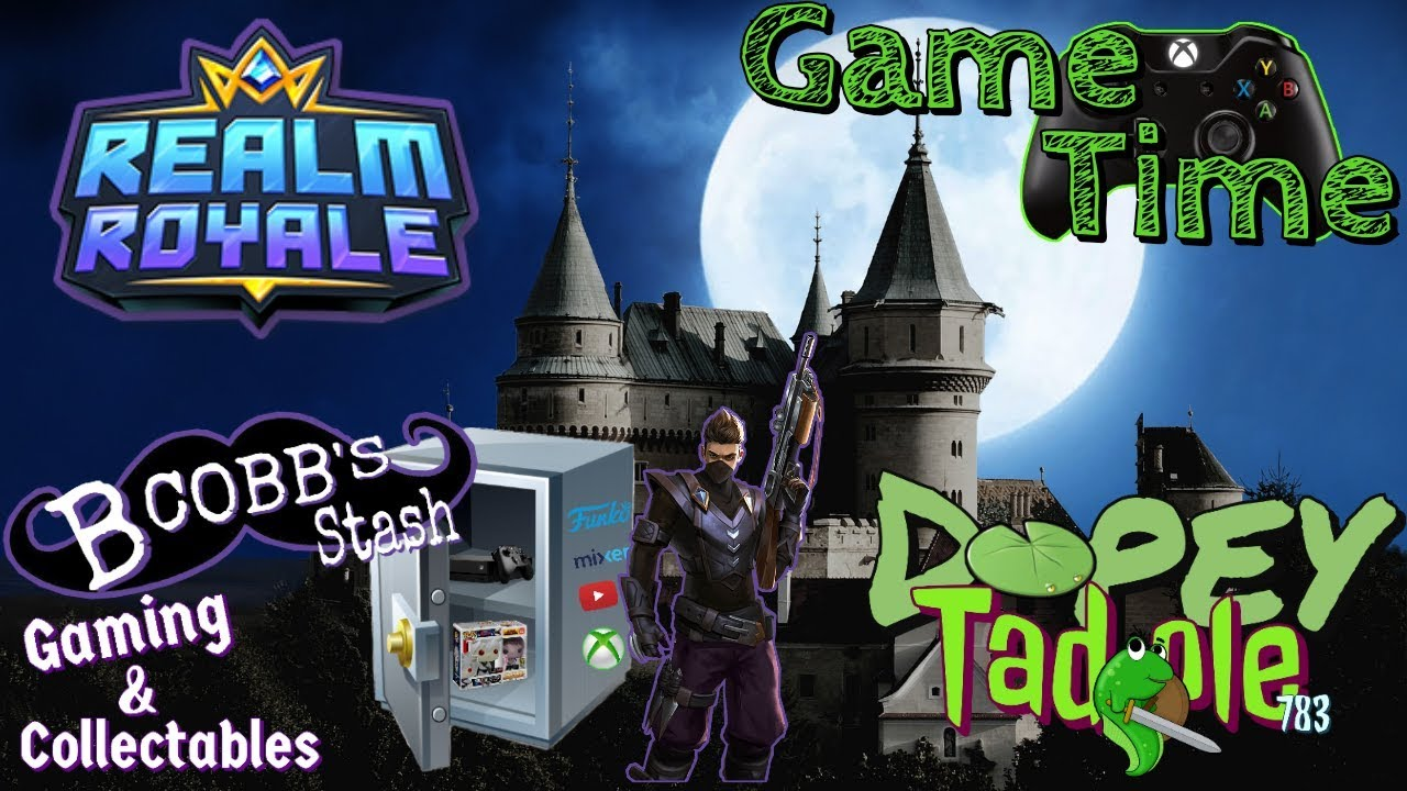 Game Time: Realm Royale  Xbox to OBS