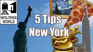 Visit New York - 5 Tips for Visiting New York City