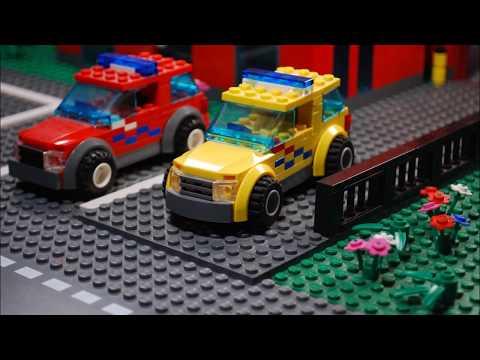 LEGO Bicycle Accident