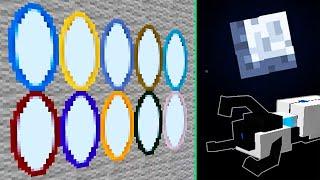 10 Порталов в Космос!.. Луна VS Земля - Portal Gun Mod