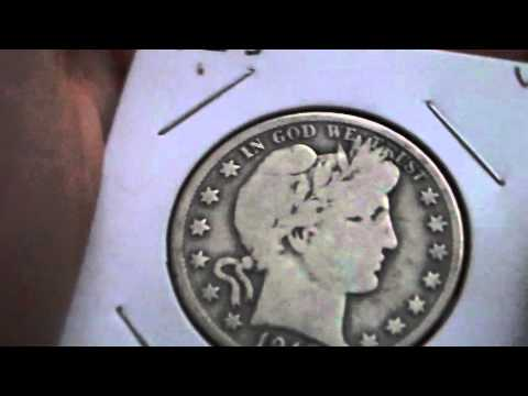 Value Of A Barber Half Dollar