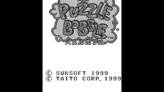 WonderSwan Longplay [005] Puzzle Bobble