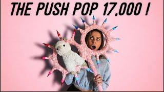 Making The CRAZIEST Most DANGEROUS Candy Weapon !! The Push Pop 17,000 !