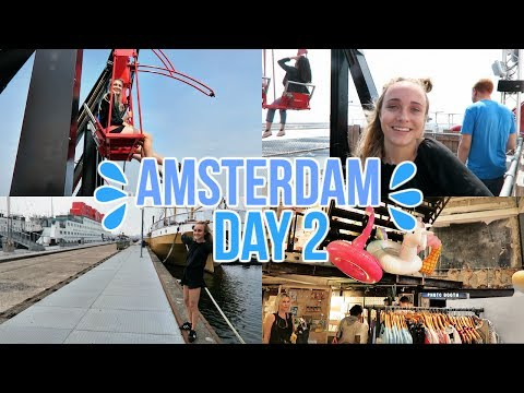 Swinging Over the Tallest Building | Amsterdam Day 2!