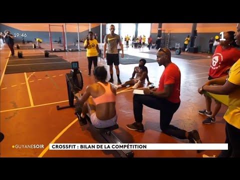 Sport : succès populaire pour la 1ère compétition internationale de Crossfit en Guyane