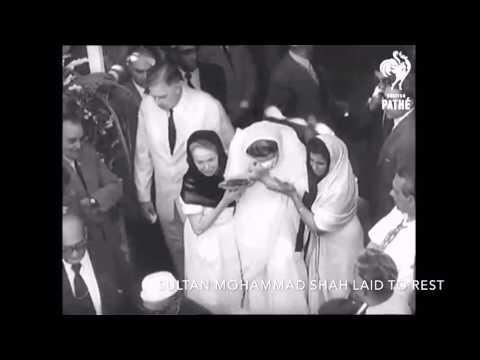 Sultan Mohammad Shah to Karim Aga khan