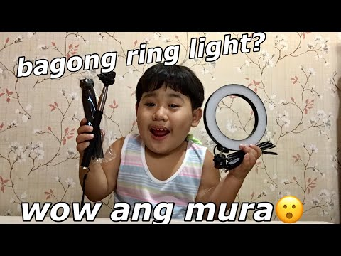 PINAKA MURANG RING LIGHT FROM LAZADA (SULIT BA O HINDI?) ||SammyManese|| thumbnail