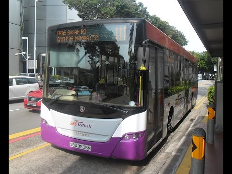 SIN: SBS Transit - Scania K230UB (Gemilang) - Route 138 to Singapore Zoo.