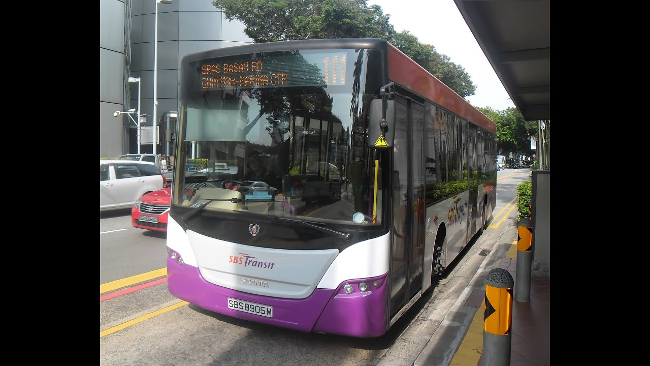 SIN: SBS Transit - Scania K230UB (Gemilang) - Route 138 to Singapore Zoo