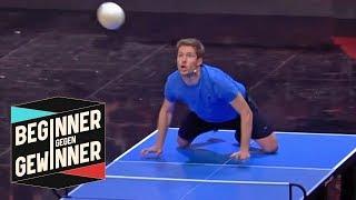 Headis: Krasser Körpereinsatz bei doppelter Platte | Beginner gegen Gewinner | ProSieben