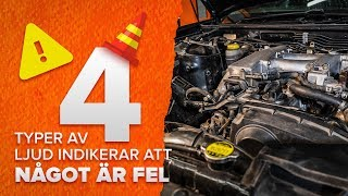 MERCEDES-BENZ ML-klass tips om underhåll