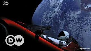 Falcon Heavy roketi Starman ile Mars yolcusu - DW Türkçe