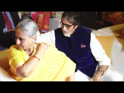 Amitabh Bachchan & Jaya Bachchan CUTE Moments In Public