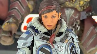 Storm Collectibles Mortal Kombat, Injustice, Street Fighter, Gears Of War 5 SDCC 2019 Display