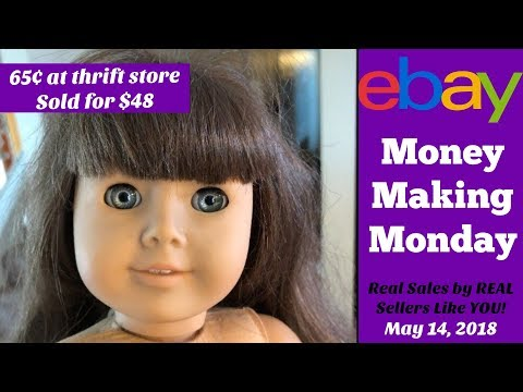 eBay Money Making Monday - See What Actually Sold 5 14 18