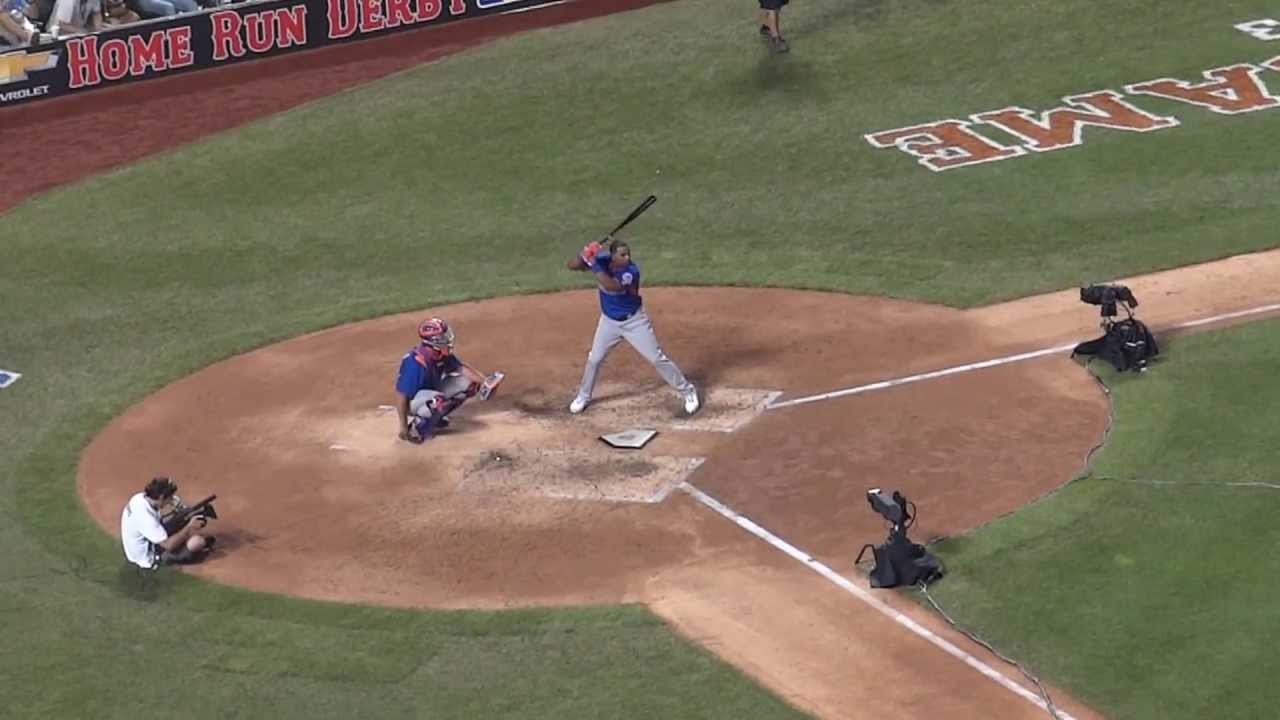 Yoenis Cespedes Finishing Off Bryce Harper