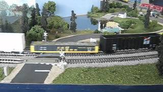 INRD Freight At Madison Model Railroad Show 2 17 13