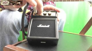 Marshall MS2 Micro Amp Review - Demoing the Marshall MS-2 Mini Amp