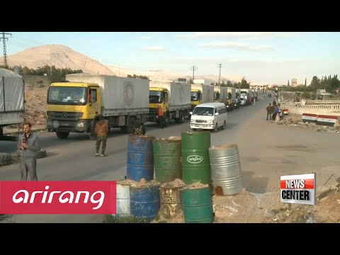 UN says Humanitarian aid to reach more besieged areas in Syria