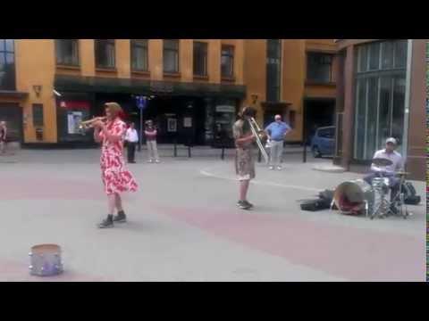 Live music in Riga by Latvian Street Artist